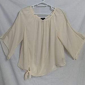 ALYX Sheer Front-Knot Top - 1X